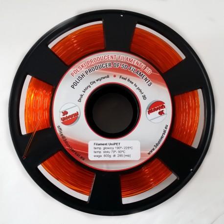Filament UniPET - Pomarańczowy