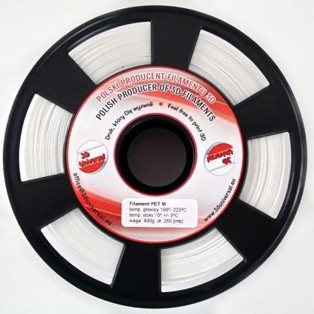 Filament PET M - Biały